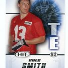 GREG SMITH 2011 Sage Hit ROOKIE Texas Longhorns
