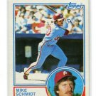 MIKE SCHMIDT 1983 Topps #300 Phillies