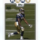 DONNIE AVERY 2008 Topps #369 ROOKIE Rams