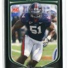CLINT SINTIM 2009 Bowman #130 ROOKIE NY Giants VIRGINIA