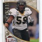 AARON CURRY 2009 UD Heroes #185 ROOKIE Seahawks WAKE FOREST