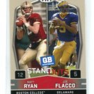 MATT RYAN & JOE FLACCO 2009 Sage Hit #51 QB Standouts Falcons Ravens