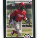 DOMINIC DOMONIC BROWN 2010 Bowman Draft Picks #BDP70 ROOKIE Phillies