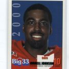 JORRELL JOHNSON 2000 Big 33 Ohio High School card ARIZONA STATE Sun Devils