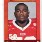J.T. JT MOORE 2010 Big 33 Ohio High School card OHIO STATE Buckeyes DL / DE