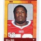 DARIUS GILBERT 2010 Big 33 Ohio High School card BOWLING GREEN DT