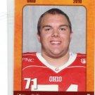 CLINT SHEPHERD  2010 Big 33 Ohio High School card CINCINNATI Bearcats OL