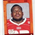 DARRYL BALDWIN 2010 Big 33 Ohio High School card OHIO STATE Buckeyes DL / DE