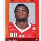 TERRY TALBOTT 2010 Big 33 Ohio High School card MICHIGAN Wolverines DT