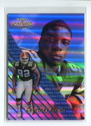 COURTNEY BROWN 2000 Topps Gold Label Class 3 #87 ROOKIE Penn State BROWNS