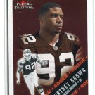 COURTNEY BROWN 2000 Fleer Tradition #311 ROOKIE Penn State BROWNS