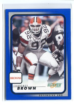 COURTNEY BROWN 2001 Score #47 Penn State BROWNS