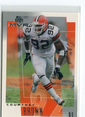 COURTNEY BROWN 2001 Upper Deck UD MVP #69 Penn State BROWNS