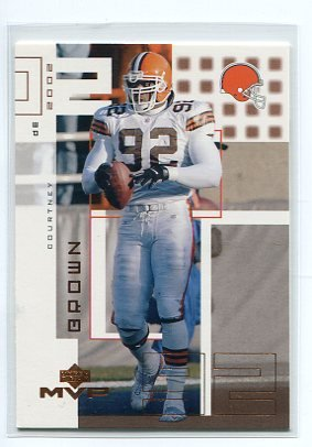 COURTNEY BROWN 2002 Upper Deck UD MVP #53 Penn State BROWNS