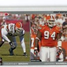 COURTNEY BROWN 2004 Topps Total FIRST EDITION #228 Penn State BROWNS