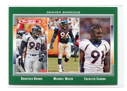 COURTNEY BROWN 2006 Topps Total #378 Penn State BRONCOS