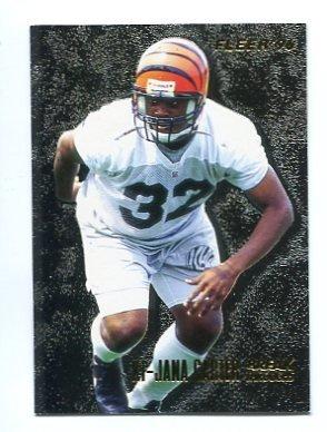 Ki-JANA CARTER 1996 Fleer Break Throughs #5 INSERT Penn State BENGALS