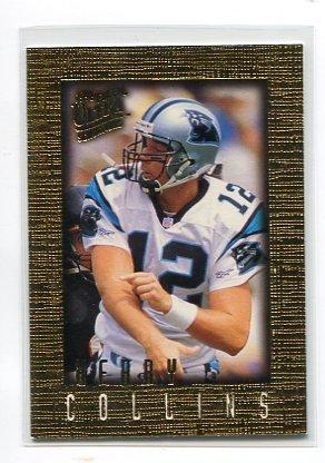 KERRY COLLINS 1996 Fleer Ultra Sensation GOLD SP #14 PARALLEL Penn State CAROLINA Panthers QB