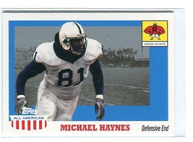 MICHAEL HAYNES 2003 Topps All-American #111 ROOKIE Penn State BEARS