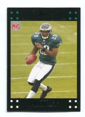 TONY HUNT 2007 Topps #307 ROOKIE Eagles PENN STATE Rookie