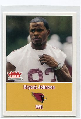 BRYANT JOHNSON 2003 Fleer Tradition #278 ROOKIE Penn State Nittany CARDINALS Detroit Lions