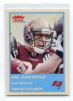 JOE JUREVICIUS 2004 Fleer Tradition BLUE SP #225 Penn State Nittany Lions TAMPA BAY TB Bucs