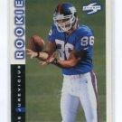 JOE JUREVICIUS 1998 Score #248 ROOKIE Penn State Nittany Lions NEW YORK NY Giants