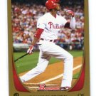 DOMINIC DOMONIC BROWN 2011 Bowman GOLD SP #15 Phillies