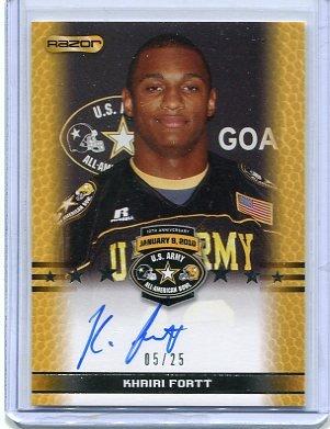 KHAIRI FORTT 2010 Razor JERSEY Penn State Nittany Lions 4-star OLB #/150 (Nationally Ranked #11)
