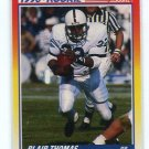 BLAIR THOMAS 1990 Score #300 Rookie PENN STATE Nittany Lions NY JETS