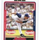 CLIFF LEE 2005 Topps #183 Indians PHILLIES