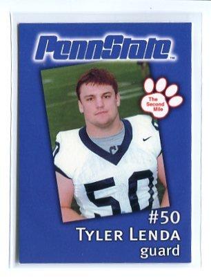 TYLER LENDA 2002 Penn State Second Mile College Card GUARD
