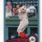 SEBASTIAN VALLE 2011 Topps Pro Debut BLUE SP #158 ROOKIE Phillies #d/309