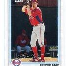 TREVOR MAY 2010 Bowman Draft Picks #BP36 ROOKIE Phillies
