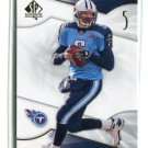 KERRY COLLINS 2009 SP Authentic #98 TITANS Penn State QB