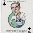 STEVE SUHEY 2008 Penn State Hero Decks Playing Card OG 1942 1946-47