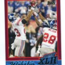 COREY WEBSTER 2007-2008 Topps Super Bowl XLII Commemorative #19 New York NY Giants LSU TIGERS