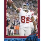 DAVID TYREE 2007-2008 Topps Super Bowl XLII Commemorative #24 New York NY Giants MICHIGAN STATE