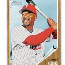 JIMMY ROLLINS 2011 Topps Heritage #284 Philadelphia Phillies