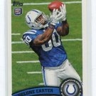 DELONE CARTER 2011 Topps #108 ROOKIE Colts SYRACUSE RB