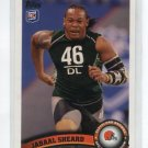 JABAAL SHEARD 2011 Topps #367 ROOKIE Browns PITT PANTHERS