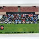 NFL Players Rookie Premiere Photo Shoot 2011 Topps #187