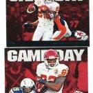 JAMAAL CHARLES 2011 Topps Game Day INSERT Kansas City KC Chiefs TEXAS LOGHORNS