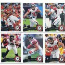 (11) Atlanta FALCONS 2011 Topps Team Lot NO DUPES