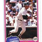 Coach / Manager LOU PINELLA 1981 Topps #724 New York NY Yankess DAMAGED