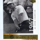 JACK NICKLAUS 2001 Upper Deck UD The Golden Bear 1967