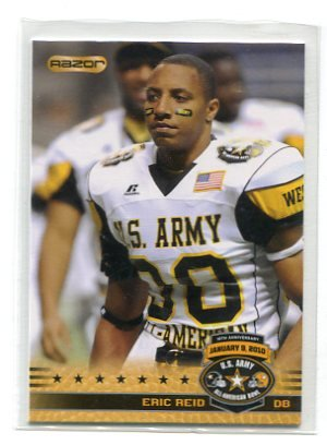 new style 7b882 6153a ERIC REID 2010 Razor Army All-American #44 LSU Tigers 49ers