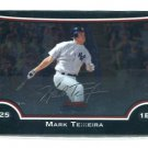MARK TEIXEIRA 2009 Bowman Chrome #117 New York NY Yankees