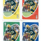 (4) ROBERT FERGUSON 2007 Uno Card Game #9 Lot ALL 4 COLORS Green Bay GB Packers TEXAS A&M Aggies