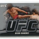 DIEGO SANCHEZ 2010 Topps UFC Event-Used Octagon MAT RELIC #d/188